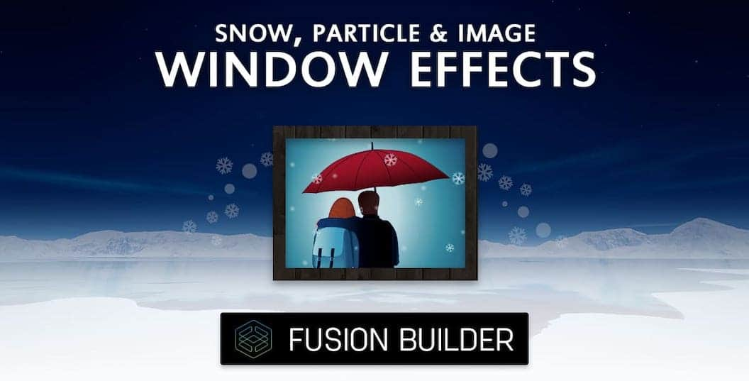 Snow, Particle & Image Window Effects Element Add-on for Avada & Fusion Builder