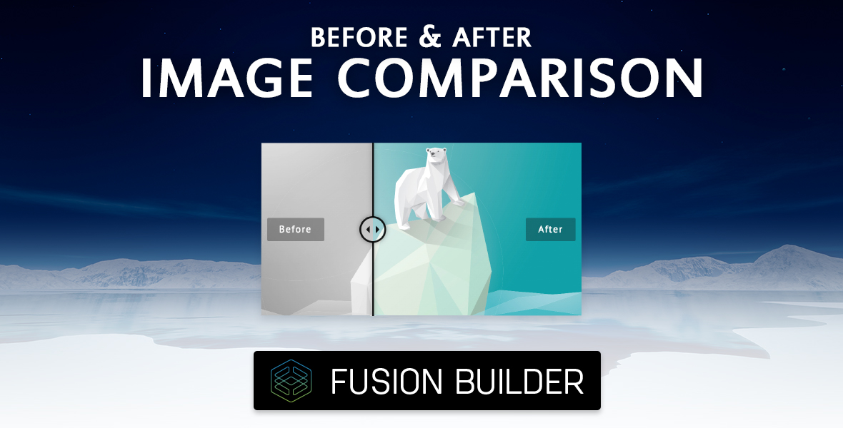 Before & After Image Comparison Element Add-on for Avada & Fusion Builder
