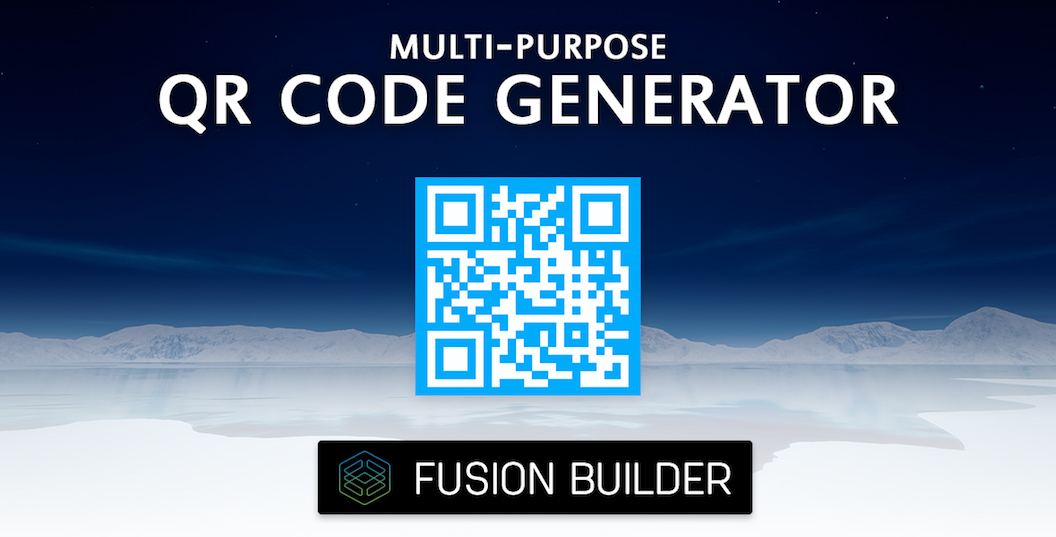 Multi-Purpose QR Code Generator - Fusion Builder Element Add-on for Avada